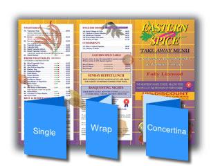 A4 Folded Leaflets